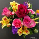 山形県産の花フラワーアレンジメント
